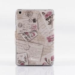 fashion design printing leather casefor ipad mini custom pu leather cover