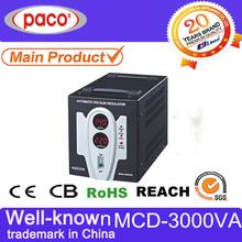 1 phase 3kva power regulator 110v 230v 3000va step down transformer with CPU control
