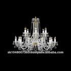 BOHEMIA CRYSTAL 18-light chandelier