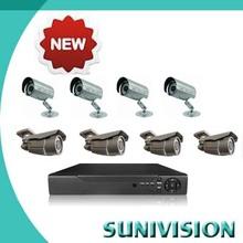 HOT 8CH channel dvr kit 8 sony 700tvl cameras