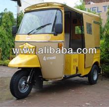 King Delux Minicab (4-Stroke Auto Rickshaw)