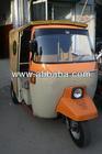 Orange Minicab (4-Stroke Auto Rickshaw)