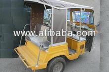 Delux 7 Seater (4-Stroke Auto Rickshaw)