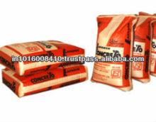 Laminated woven pp block bottom valve bag / 50kg cement bag