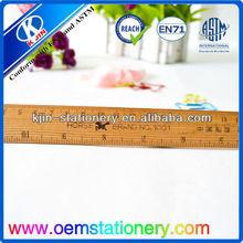 custom 30cm ruler/wooden 30cm ruler/scale 30 cm ruler