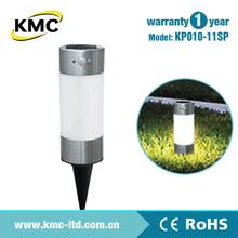 PIR LED Solar Stainless Garden Light KP010-11SP