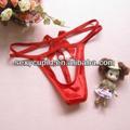 Abrir frente com calcinha vermelha pérola gater g- string g1281 do fabricante de china