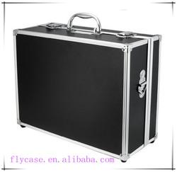 beautiful aluminum laptop case in aluminum case for tools kit with shoulder belt