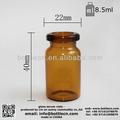 Ampola de injeção, amber frascos de injeção, amber frasco de injeção moldada