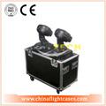 sonrisa de doble tecnología led mini láser etapa de iluminación para la venta a prueba de golpes con la carretera de embalaje caso
