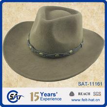 western looking cowboy hat,100% pure wool