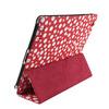 Red With White Bubble Polka Dots Case For Ipad Mini,PU Smart Cover Case For Ipad Mini