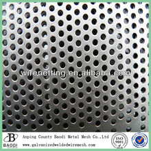 Perforated metal aluminum mesh speaker grille (Baodi Manufacture ISO9001:2000)