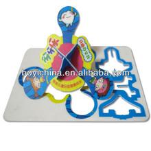 3d education puzzle mat ,intelligence development puzzle game