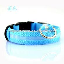 2014 hot led flashing dog collar, glowing led pet collar, flashing led dog training collar and leash