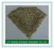 Glass quality machine cut rhinestone alphabet letters ss4.5-ss39