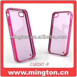 Give out light Cheap mobile phone cases for iphone4