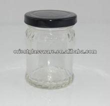 55ml 2oz peanut butter fruit jam bottle,food glass bottle