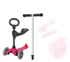 Mini seat scooter,3 in 1 kid scooter,plastic balance scooter