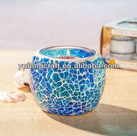 mosaic votive tealight holders