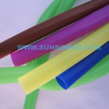 High Quality Colorful Silicone Rubber Tube Sleeve For MEP Equipments