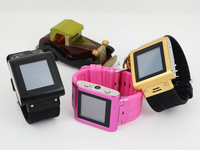 OLED resistive touchscreen cell phone watch android W838 with camera and fm bluetooth