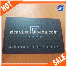 plastic foil printed business cards