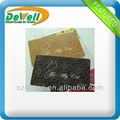 Atacado personalizado jato de tinta cartão de PVC para impressão