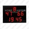 2014 New Design Super Quality LED Scoreboard Harga Digital Scoring Board Display Sepakbola