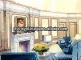 Home Interior Decorative Pillars