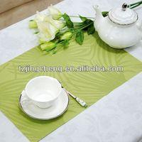 Green PVC palcemat/mat