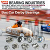 Box Car Derby Bearings SMR6202C-2YS/C3 #3 L55