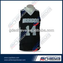 Hot sale overseas trading men basketball tops