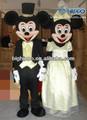 nozze topolino e minnie costume mascotte