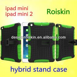 Roiskin fashion case for ipad mini 2 and for ipad mini combo case