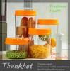 Hot sale Plastic Vacuum food storage jar 1600ml for promotion