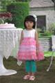 2014 nueva moda de japón de la flor vestido de la muchacha
