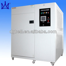 Simulated climate environment testing equipment Three zone thermal shock chamber price