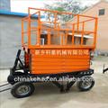 plataforma de elevación de la mano de camiones