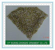 High quality machine cut crystal rhinestone sideways cross ss4.5-ss39