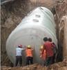 underground glass fiber reinforced plastic septic tank