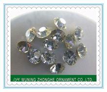 High quality machine cut crystal rhinestone hotfix ss4.5-ss39