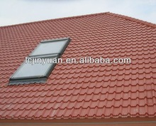 hot selling colorful stone coated metal roofing tile/metal corrugated tile roofing/Stone Chip Coated Metal Roof Tile