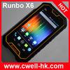 Runbo X6 5 Inch Gorilla IPS Touch Screen Waterproof, Anti-shock, Anti-dust Rugged smartphone