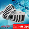 Mattress roll packing tape edge