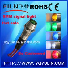 8mm diameter 12v LED indicator lights john wood water heater