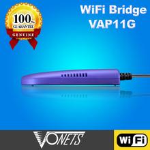 The best partner of TV set VONETS VAP11G digital tv converter box wifi