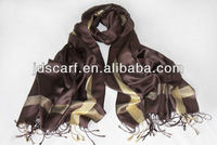 fashion baju hijab SSP-001 LATEST 95% polyester 5% lurex acrylic multicolor pamshmina scarf