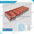 Rack de teto/stone metal revestido telha