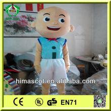 HI CE EN71 upin&ipin costume for kids